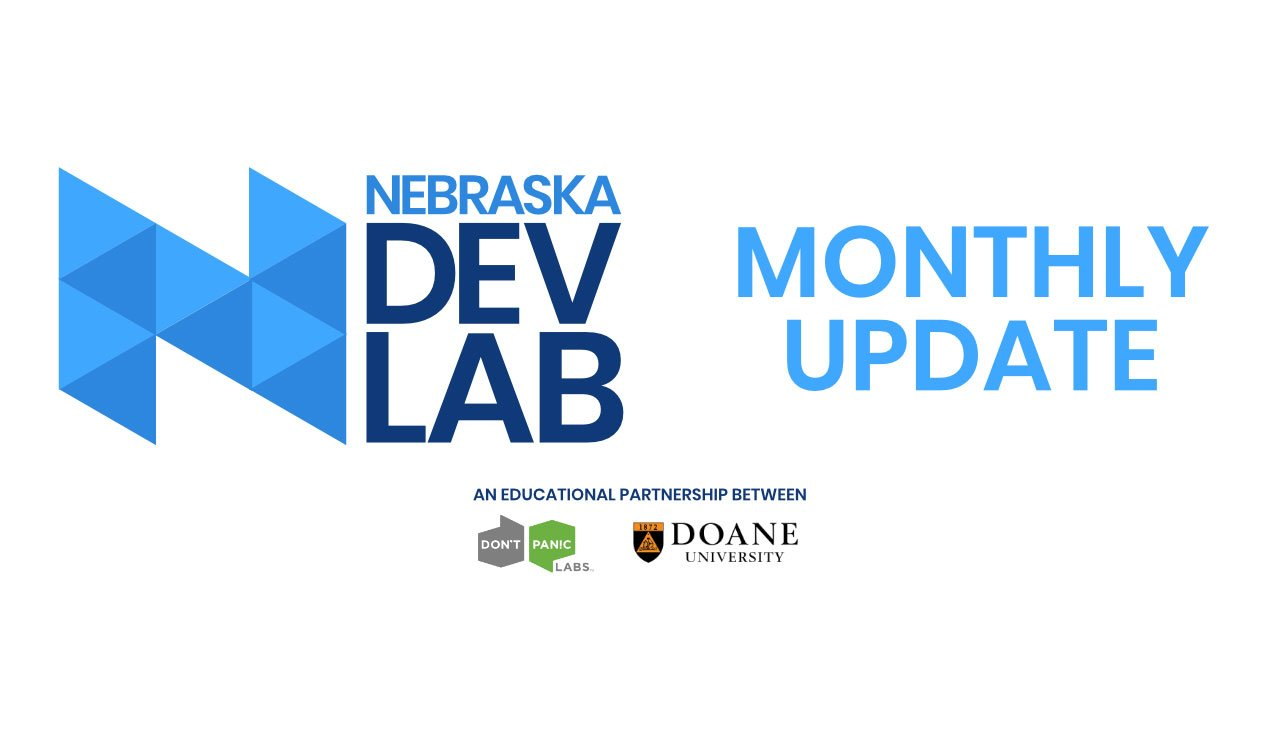 nebraska dev lab monthly update